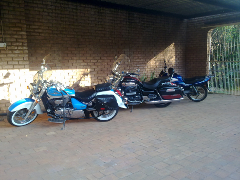 Experience a bike ride as a pillion at R500.00 for the first hour.