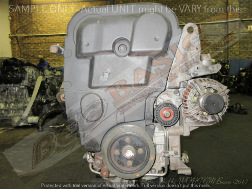 VOLVO S60 -B5204T5 2.0L TURBO D/VVT Engine