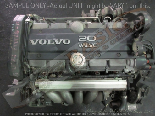 VOLVO S60 -B5254T 2.5L TURBO 20V Engine