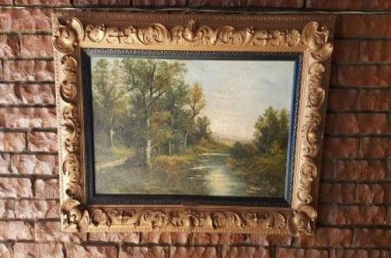 Johann Baptisto Reiter painting