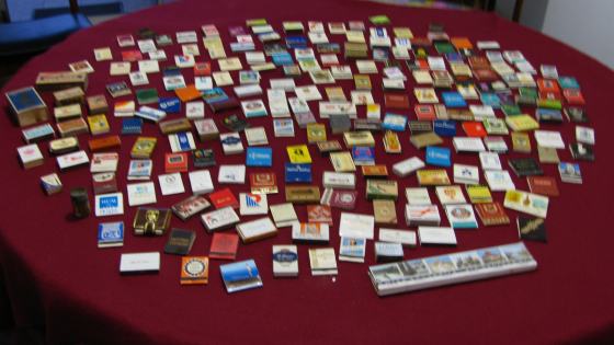 Extensive Collectors Matchbox Collection