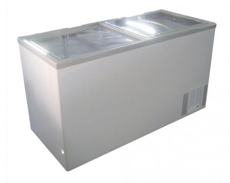 VL525 - Chest Freezer - Glass Top