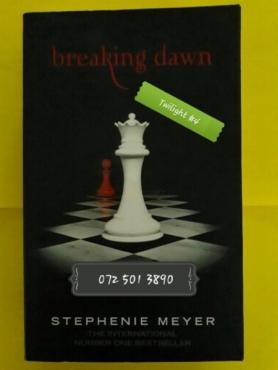 Breaking Dawn - Stephenie Meyer - Twilight 4.