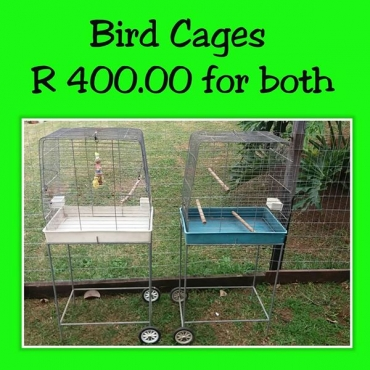 Bird cages for sale.