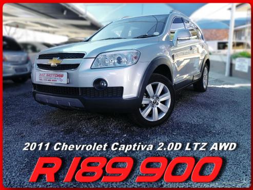 2011 Chevrolet Captiva 2.0D LTZ AWD for sale