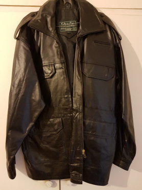 Mens Genuine Leather jacket from Charlie, London