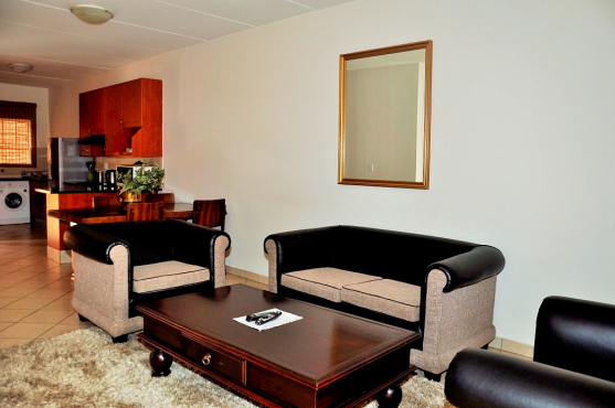 FULLY FURNISHED 3 BEDROOM APARTMENT TO LET IN HAZELDEAN, PRETORIA EAST