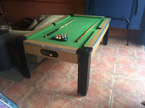 Pool Table and Table tennis Table
