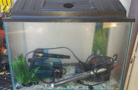 60 liter vis tank for sale
