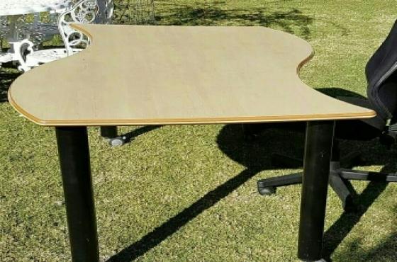 S-Shape desk/table.