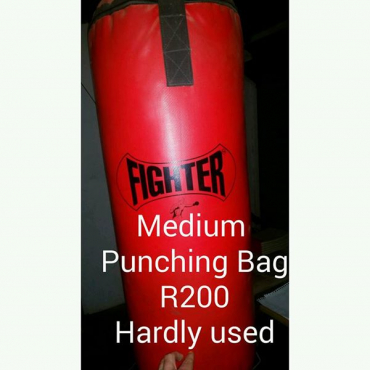 Medium punching bag for sale