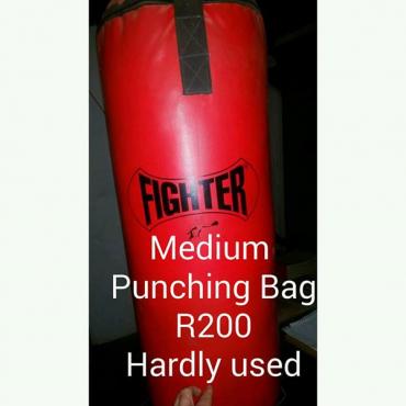 Medium punching bag for sale