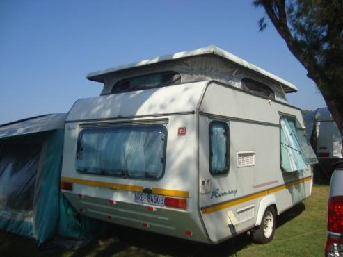Sprite Romany 1994 caravan for sale (REDUCED FOR URGENT SALE)