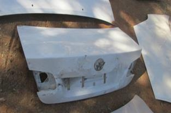 2001 Toyota Corolla Bootlid White For Sale
