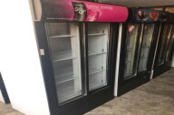 commercial fridge  display