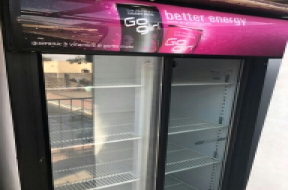 commercial fridge  display