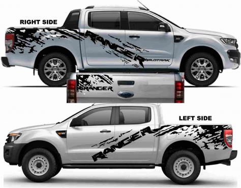 Ford Ranger Sticker Kit Junk Mail