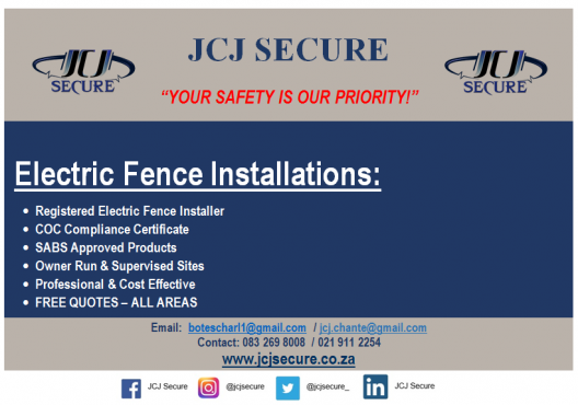 Electric Fencing and General Home Maintenance