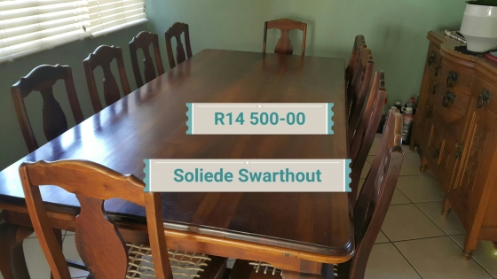 10 Seater solid wood Diningtable