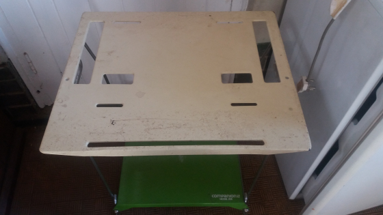 Companion Gas Stove Table for sale