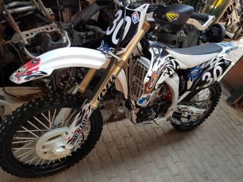 2010 Yamaha YZ450F