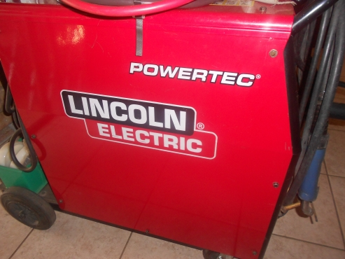lincoln powertec 305c pro welding machine