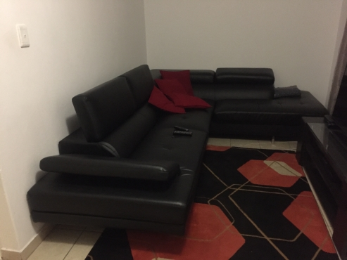 Beautiful Leather Couch For Sale