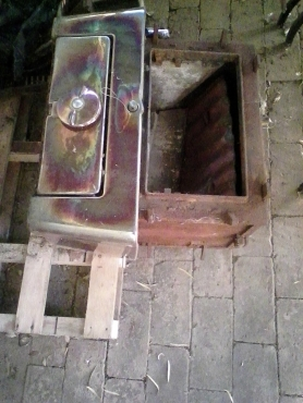 Anthracite heater. Pre used.