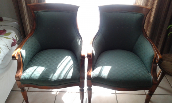 wingback chair in household in pretoria junk mail