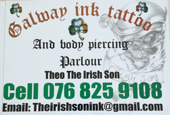 Galway Ink Tattoo and Body Piercing Parlour