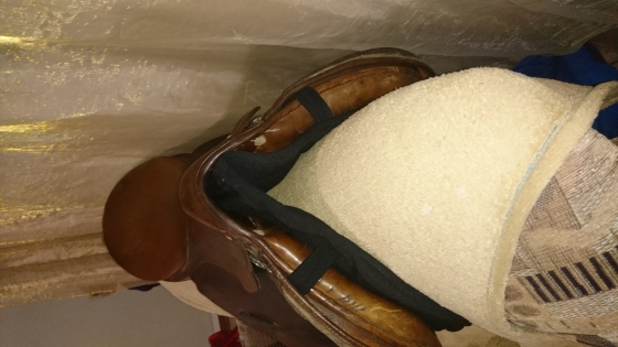 Stubben jumping saddle
