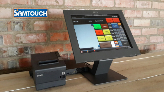 Lenovo PC + Touch Screen & Point of Sale System