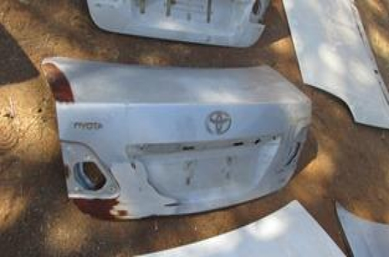 2013 Toyota Corolla Professional Bootlid Silver For Sale