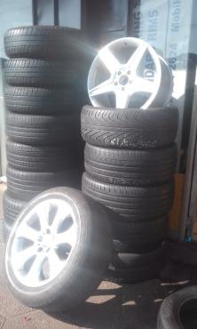Used tyres and standard mag rims Villirelia Pretoria 0783533207