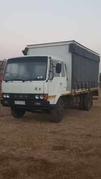 FAW 5.5 Ton Delivery Truck 2005