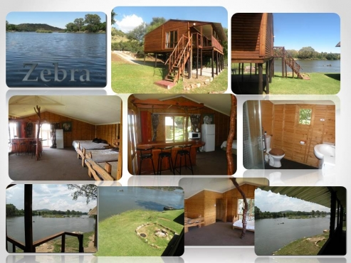 Vaal River Front Accommodation only R 800.00 per night - Sleeps 5 - Fishing
