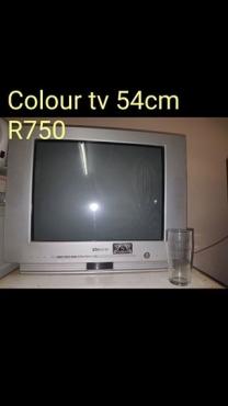 54cm colour TV for sale