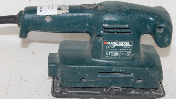 Black and decker sander S025360b
