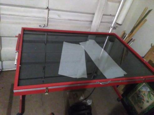 Picture framing Equipment: Vacuum Press  for sale