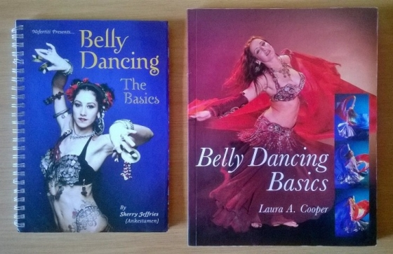 Belly dancing books. R50 for both.