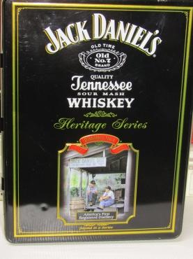 Jack Daniels Tin- Heritage series