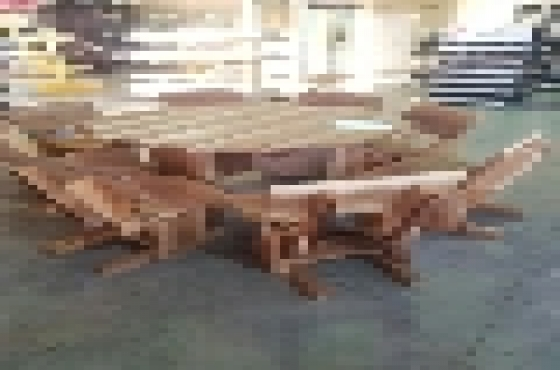 8 seater cheap new solid wood diningroom suite