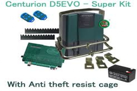 Centurion D5 evo gate motor kits up for grabs this winter