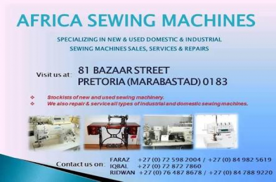 Brand new walking foot upholstery sewing machine