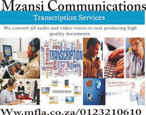 Professional transcription and translation services
