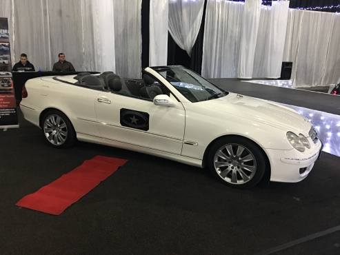 Mercedes Benz CLK 500 Convertible Hire