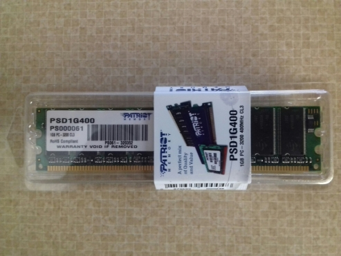 1 GB DDR-400 Memory Card - Patriot