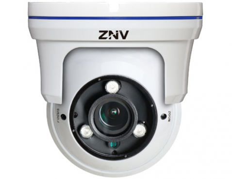 ZNV 1.3MP OUTDOOR DOME 2.8-12MM 30-IR