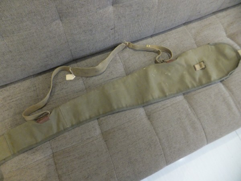 Canvas Rifle Bag with shoulder strap - old school style