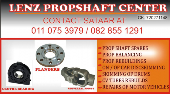 Propshaft and Motor vehicle equipment